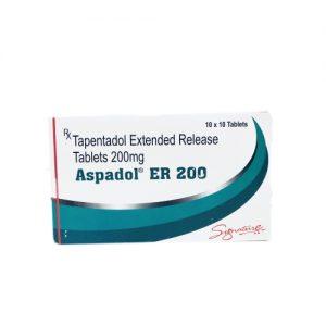 Aspadol 200mg tapentadol extended release